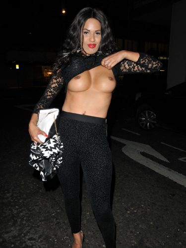 Famous tits out