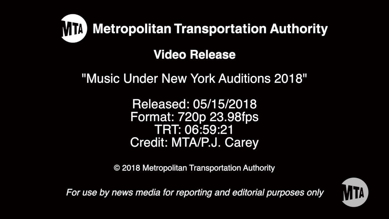 Music under new york auditions 2018