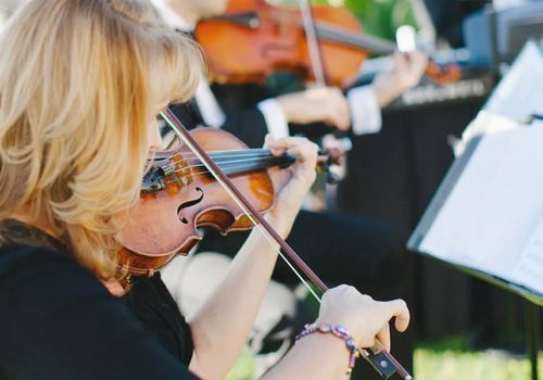 Orchestra for wedding ceremony